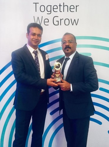 HP Supplies Distributor of the Year 2019 – KSA Award